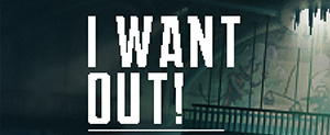 I Want Out! - Logo