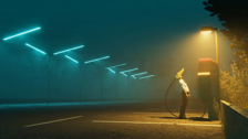 Simon Stålenhag's Parking Lot Scene